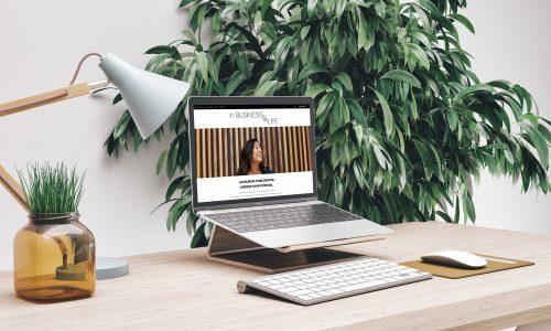 In Business & Life Website Snapshot