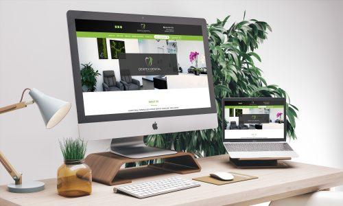 Dentex Dental Studio Website Snapshot