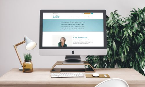 Margot Ridler Website Snapshot