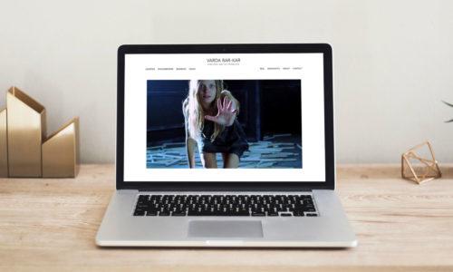 Varda Bar-Kar Website Snapshot